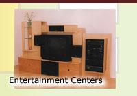 Entertainment Centers by Miles Clay Custom Furniture
